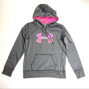 UNDER ARMOUR HOODIE Sweatshirt Storm Cold Gear S